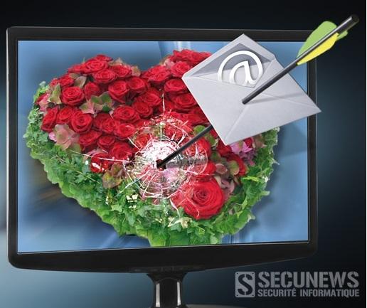(RAPPEL) Mise en garde contre les virus et pirates de la Saint Valentin