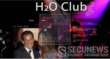 Le site du dancing H2O victime d'un piratage