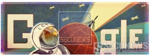 Google rend hommage au premier vol dans l'espace