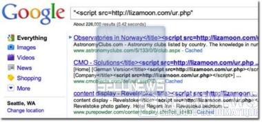 LizaMoon une attaque SQL de grande ampleur