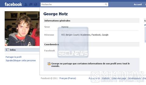 Facebook se paye le hacker GeoHot