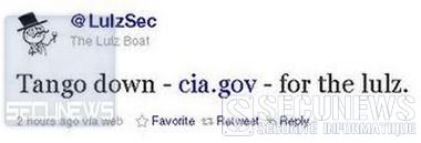 La CIA attaquée par les pirates LulzSec