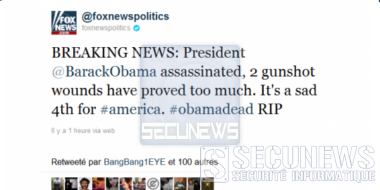 Un compte Twitter de Fox News piraté, annonce la mort d'Obama