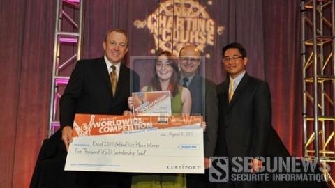 A 15 ans, elle devient championne du monde du logiciel Excel 2007