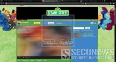 La chaine YouTube pour enfants, Sesame Street piratée, les vidéos remplacées par du porno