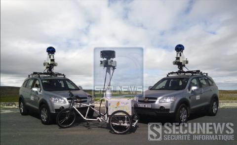 Google Street View, est lancé en Belgique