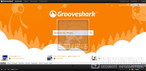 Universal porte plainte contre le site de streaming Grooveshark