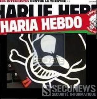 Le pirate du site Charlie Hebdo menace Libération