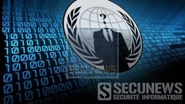 Trois membres présumés d'Anonymous en garde à vue
