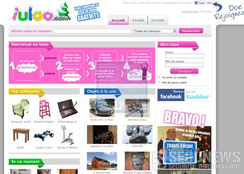 Iuloo, une brocante belge virtuelle