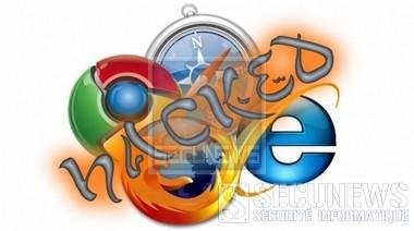 Chrome,I.E, Firefox,safari vaincu dans deux concours de piratage