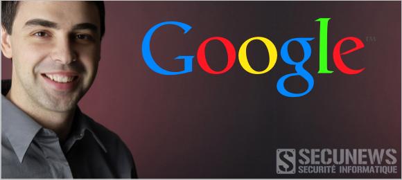 Larry Page le PDG de Google rassure ses salariés sur son état de santé