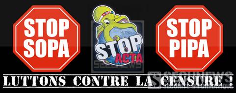 L'Acta une nouvelle fois rejeté par les parlementaires européens