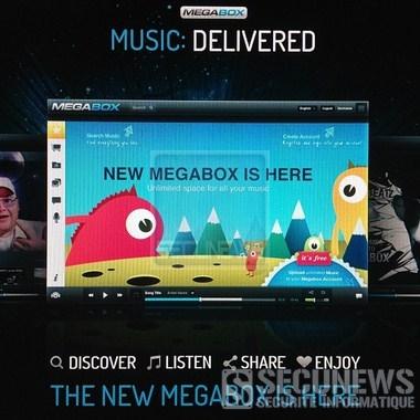 Kim Dotcom annonce Megabox