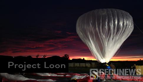Projet Loon de Google, un accès internet via des ballons dans la stratosphère