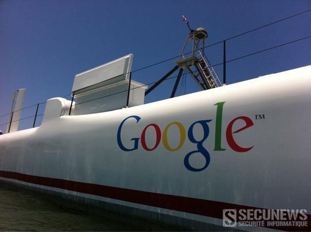Google lève le voile sur sa mystérieuse plateforme flottante