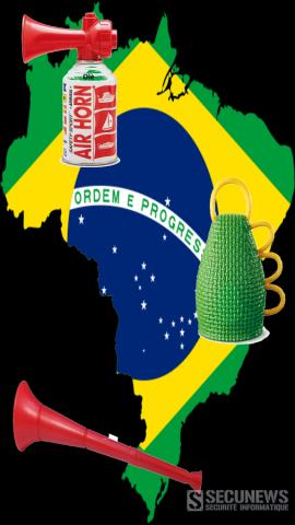La Caxirola successeur brésilien de La vuvuzela