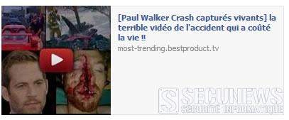 Attention aux fausses vidéos de la mort de Paul Walker