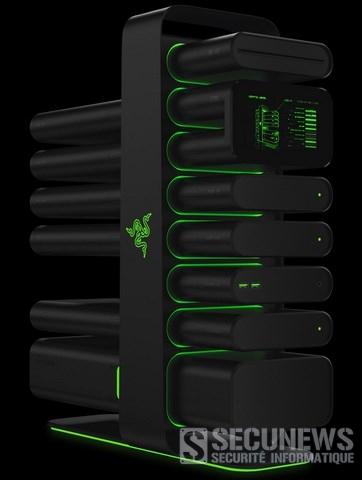 Razer présente son pc modulable à volonté au CES 2014
