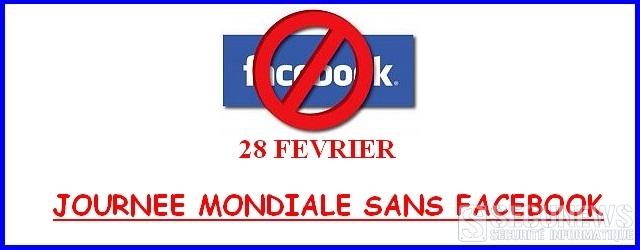 L'échec de la journée mondiale sans Facebook