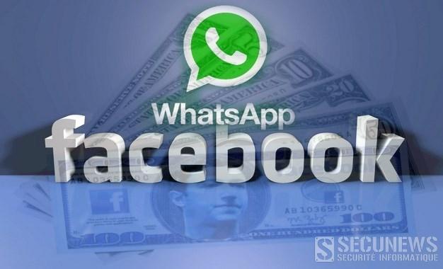 Facebook paye finalement 17,5 milliards d'euros pour le rachat de Whatsapp