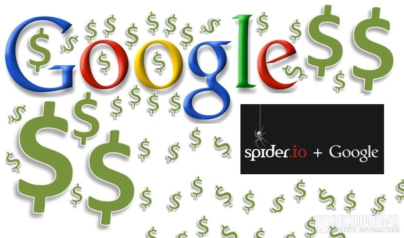 Google achète spider.io pour lutter contre la fraude