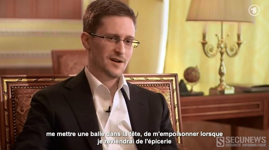 L'interview d'Edward Snowden sous-titrer en français