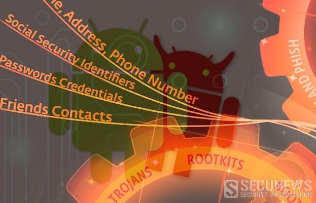 Flambée de virus sur les smartphones équipés du systéme Android