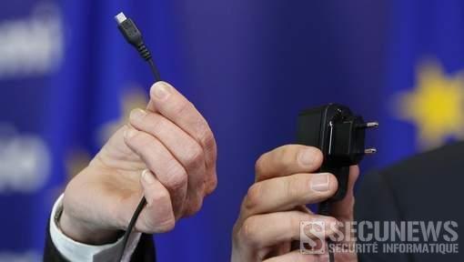 Le chargeur universel pour téléphones portables disponible d'ici trois ans