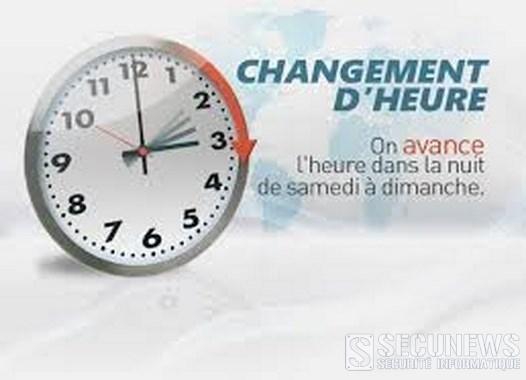 Passage à l'heure d'été dans la nuit du samedi 29 au dimanche 30 mars 2014