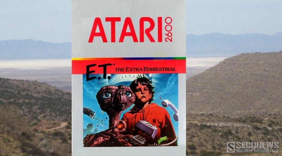 La légende urbaine des cartouches Atari E.T The Extra-Terrestrial était vraie!