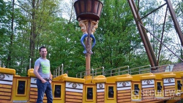Un Belge va tenter de battre le record du monde du plus long séjour à bord d'une attraction a Bellewaerde