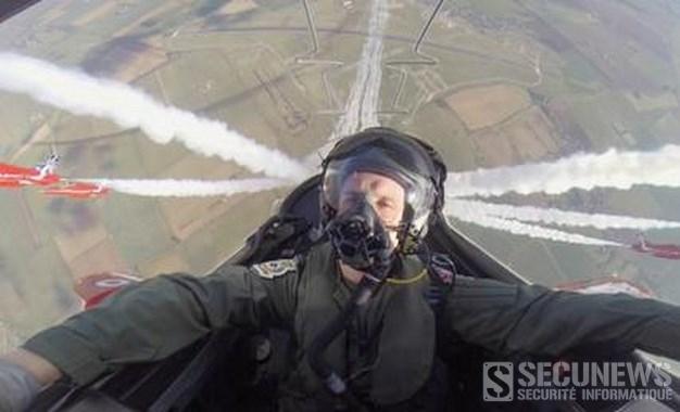 Caméra embarquée dans un jet de la Royal Air Force (2014)