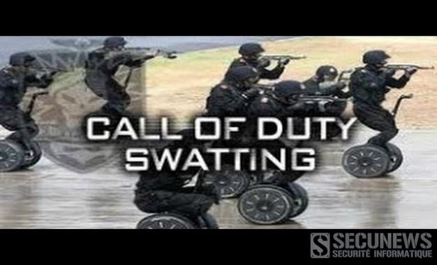 Il perd à Call of Duty et envoie le Swat chez son adversaire