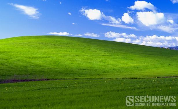 L'histoire du fond d'écran de Windows XP