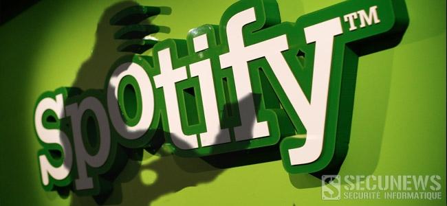 Spotify victime d'une intrusion sur ses serveurs