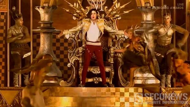 L'hologramme de Michael Jackson aux Billboard Music Awards (18.5.2014)