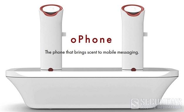 Envoyer et recevoir des odeurs par SMS, c'est possible avec l'oPhone