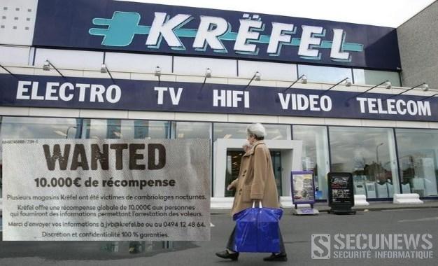 Krëfel en a marre des voleurs et vous offre 10.000 euros pour l'arrestation des voleurs