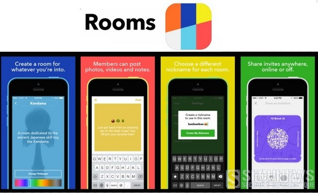 Facebook, sort son application mobile 'Rooms' basée sur l'anonymat