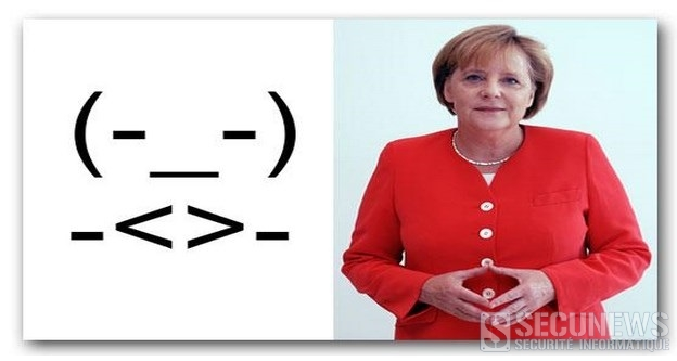 Angela Merkel a désormais son propre emoticon
