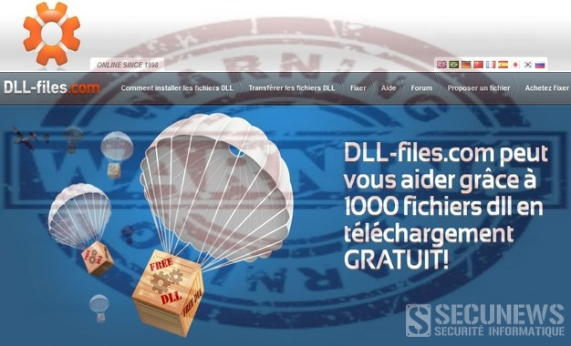 "Attention au site ""DLL-Files.com"""