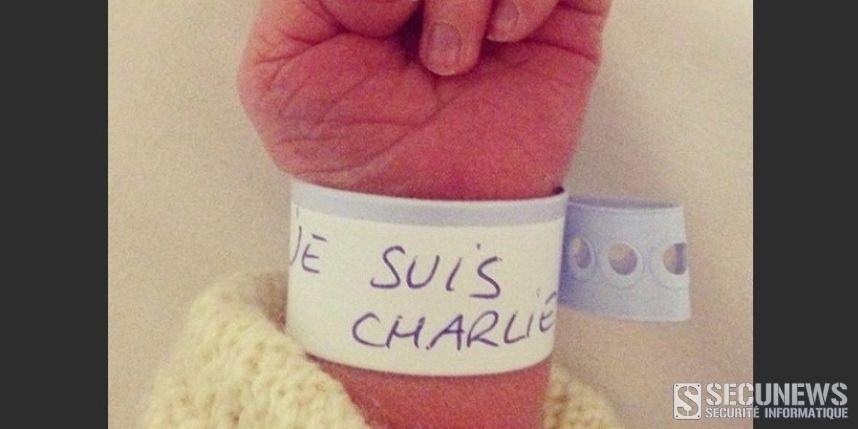 Un virus utilise le hashtag #JeSuisCharlie