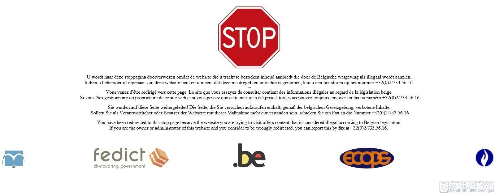 La Belgique bloque 3 nouveaux sites de téléchargement torrent