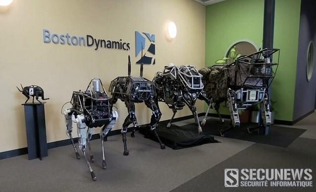 Spot, le nouveau chien robot de Boston Dynamics (Fev 2015)