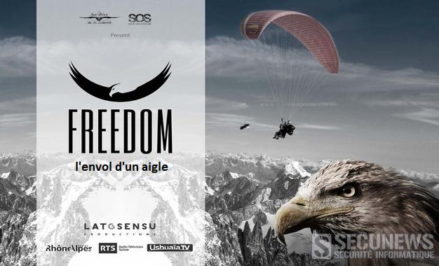 Freedom, 'l'envol d'un aigle', un trépidant voyage à dos de pygargue à queue blanche