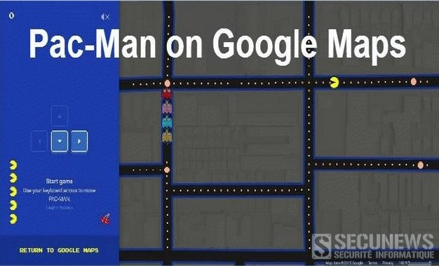 Google propose un mode Pac-Man dans Maps