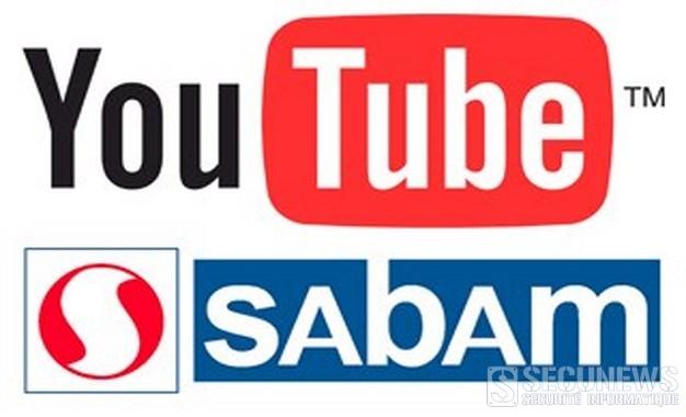 La Sabam n'apprécie pas le partage de ses vidéos youtube sur d'autres sites