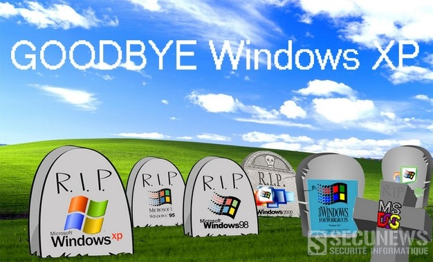 Les Belges abandonnent de plus en plus Windows XP