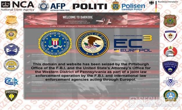 Le FBI et Europol ferment le forum de hackers, Darkode